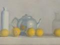 Tea Pot and Five Lemons