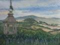 View Toward Todi from Tre Grazie