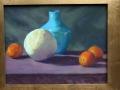 Fruit and a Manganese Vase